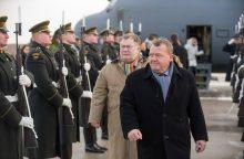 Danijos premjeras: būdami čia giname ne tik Baltijos šalis, bet ir save