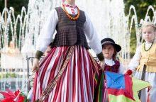 Vilniuje išrinkti dailiausi tautiniai kostiumai