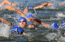 Kauno triatlone galima dalyvauti ir nemokant plaukti?