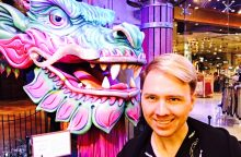 "M. Wizard įspūdžiai Las Vegase: patekau į ""Cirque du Soleil"" užkulisius!"