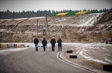 """""""F-1"""" trasų projektuotojai užsuko į Kačerginę"""