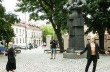 Vilniaus kalbančios skulptūros ketvirtą sezoną pradeda atsinaujinusios