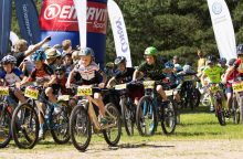 MTB dviračių entuziastai naują sezoną pradeda Druskininkuose