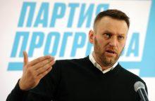 Prieš V. Putiną kovojanti opozicija engiama dar neprasidėjus rinkimams