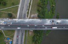 Iki Varnių tilto atidarymo lieka savaitė